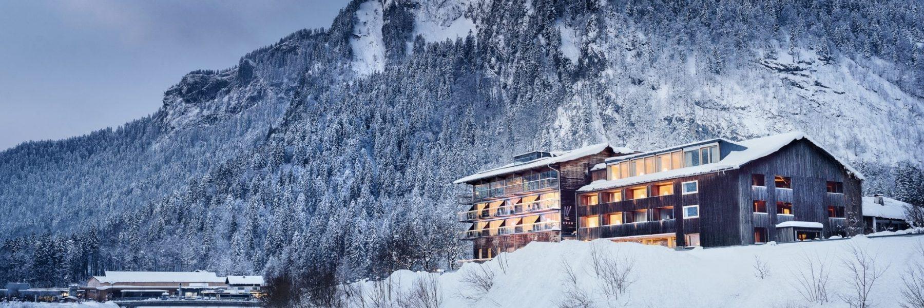 Hotel Krone in Au mit Mittagsfluh