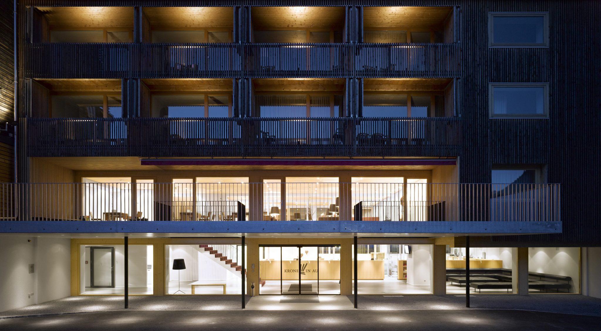Hotel Krone in Au L'hôtel du Bregenzerwald