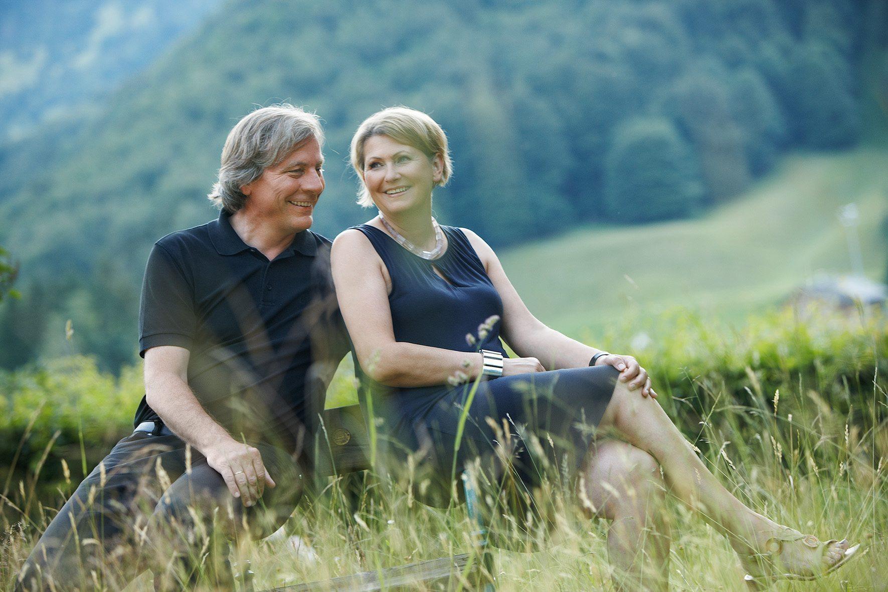 Birgit & Walter Lingg: Gastgeber in der Krone Au