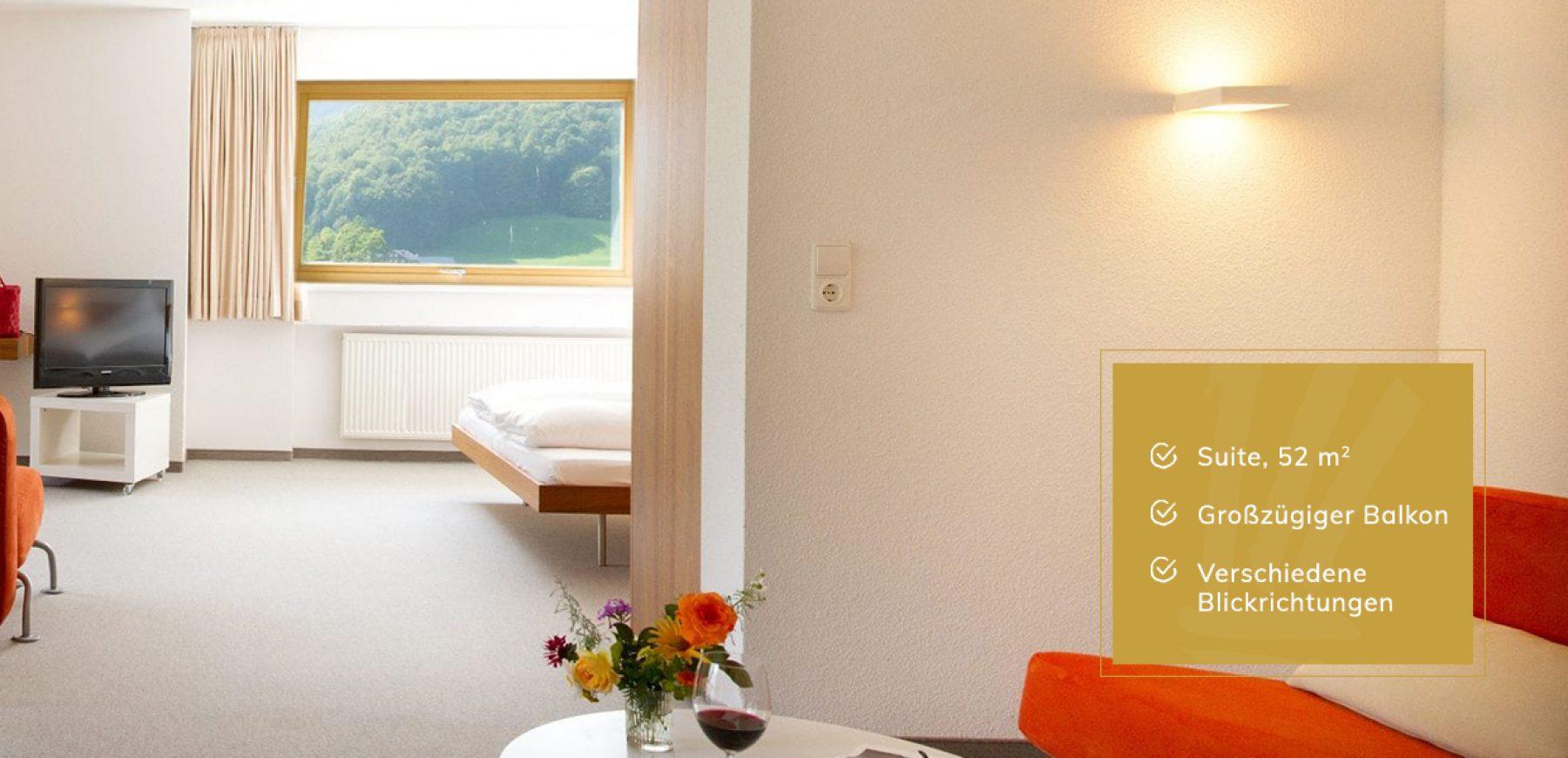 Junior Suite im Hotel Krone Au