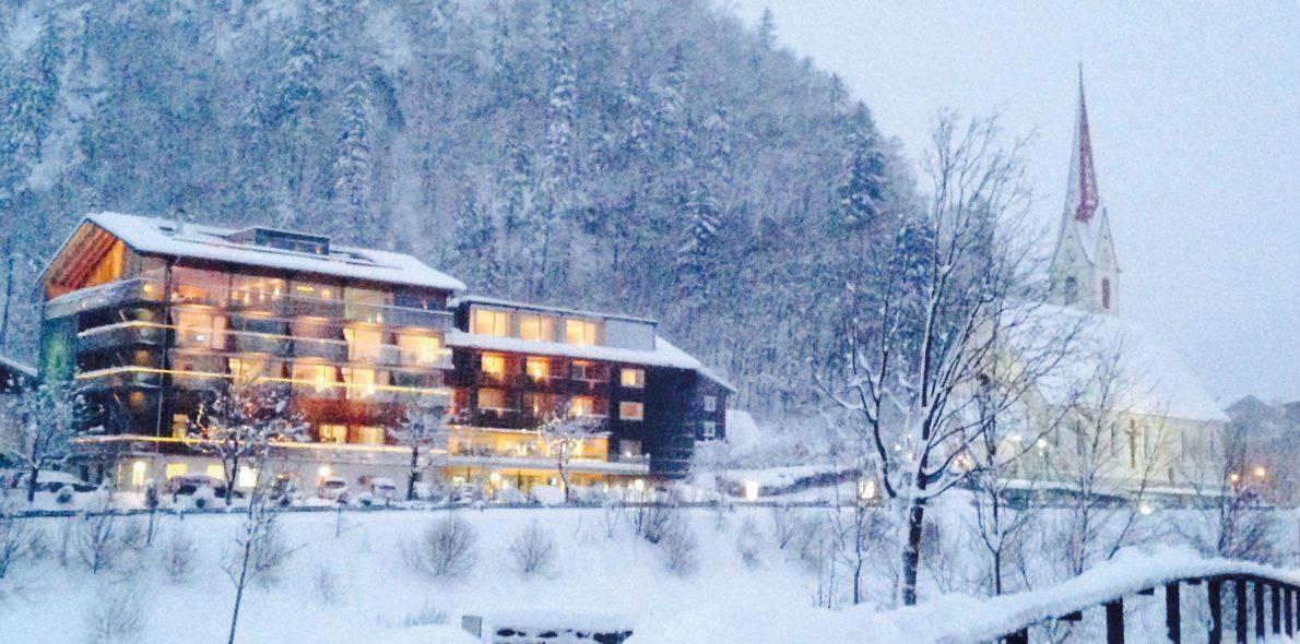 Winter Hotel Krone Au bregenzerwald