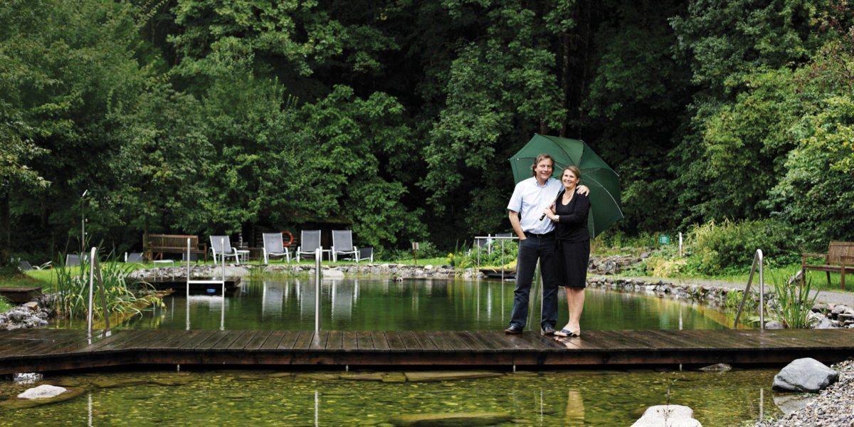 Birgit und Walter Lingg Badesee hotel krone