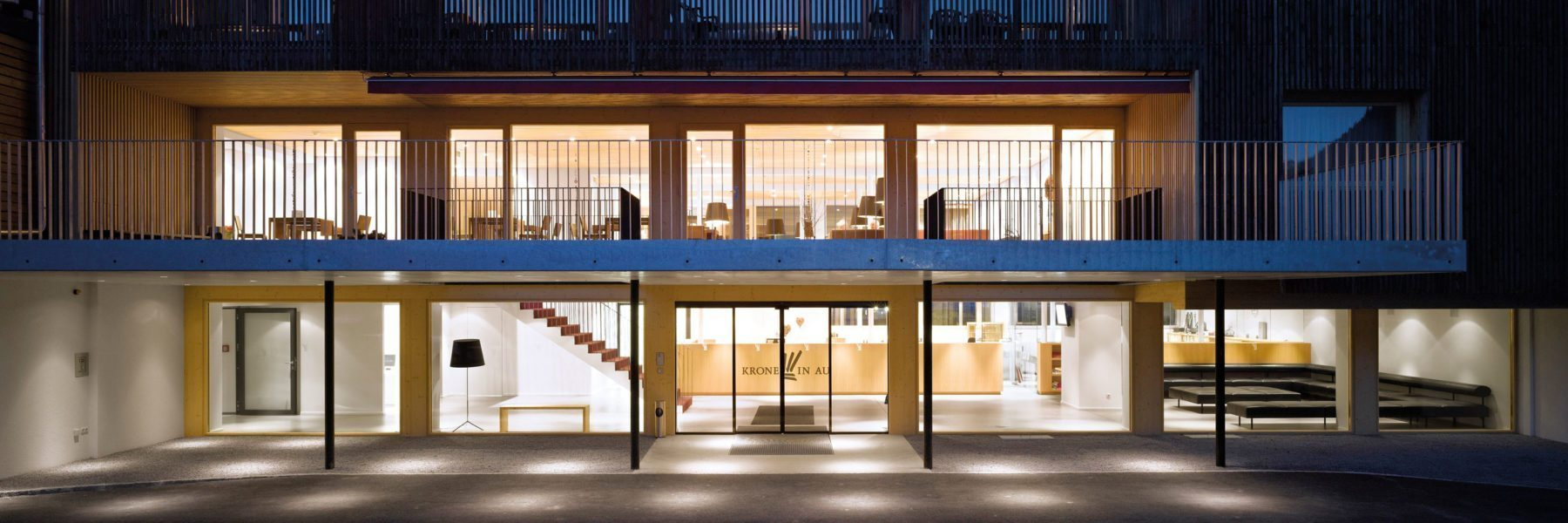 Architektur Hotel Krone Au