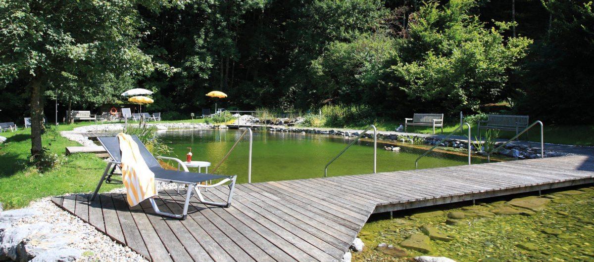 Naturbadesee hotel krone au bregenzerwald