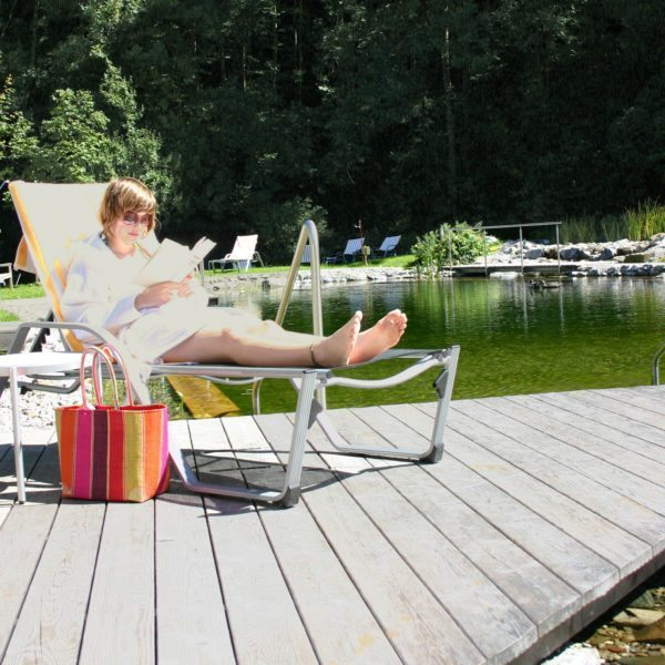 Hotel Krone Au Garten mit Badesee Bregenzerwald