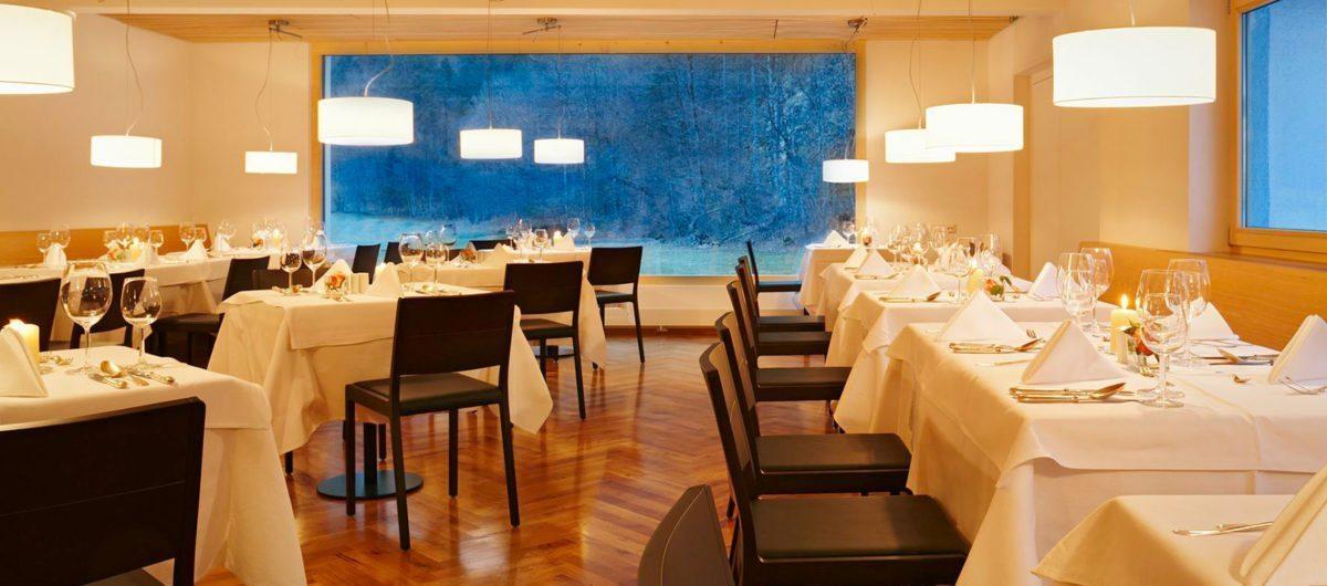 hotel krone au Restaurant