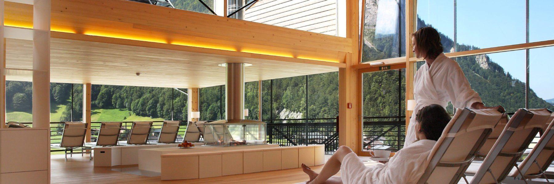 Sky Spa Hotel Krone Au Bregenzerwald Wellness
