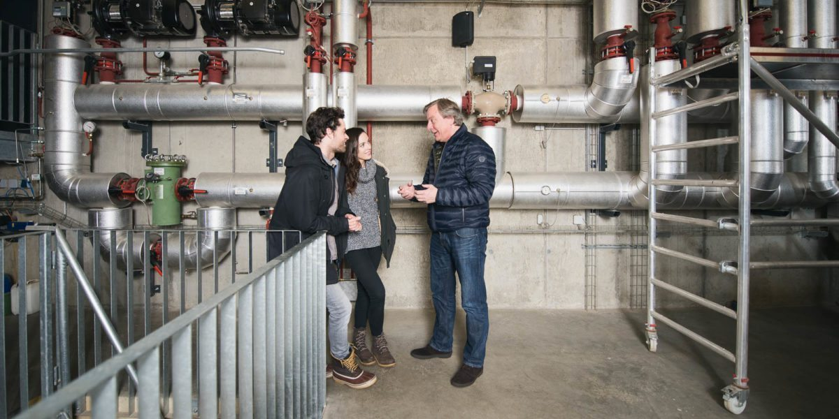 Biomasseheizwerk in Au Hotel Krone Vorarlberg