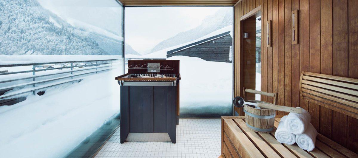 Panoramic sauna bregenzerwald hotel krone au