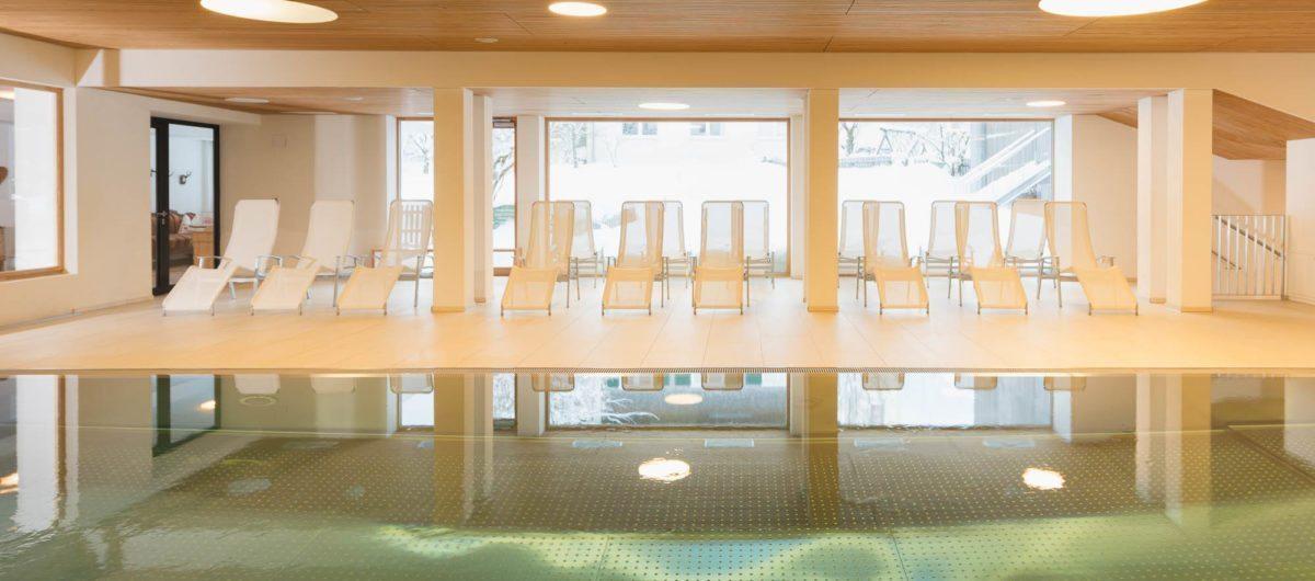 Indoor pool bregenzerwald hotel krone au