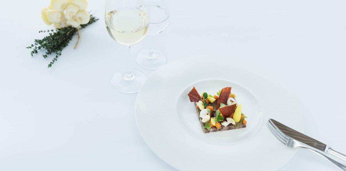 Vorspeise aus der Kronen Küche bregenzerwald