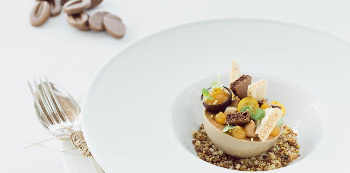 Chocolate desert by Matthias Huber hotel krone au