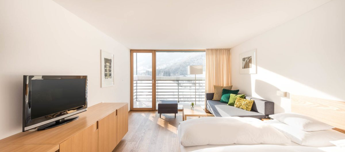 Zimmer mit Balkon das bregenzerwaldhotel