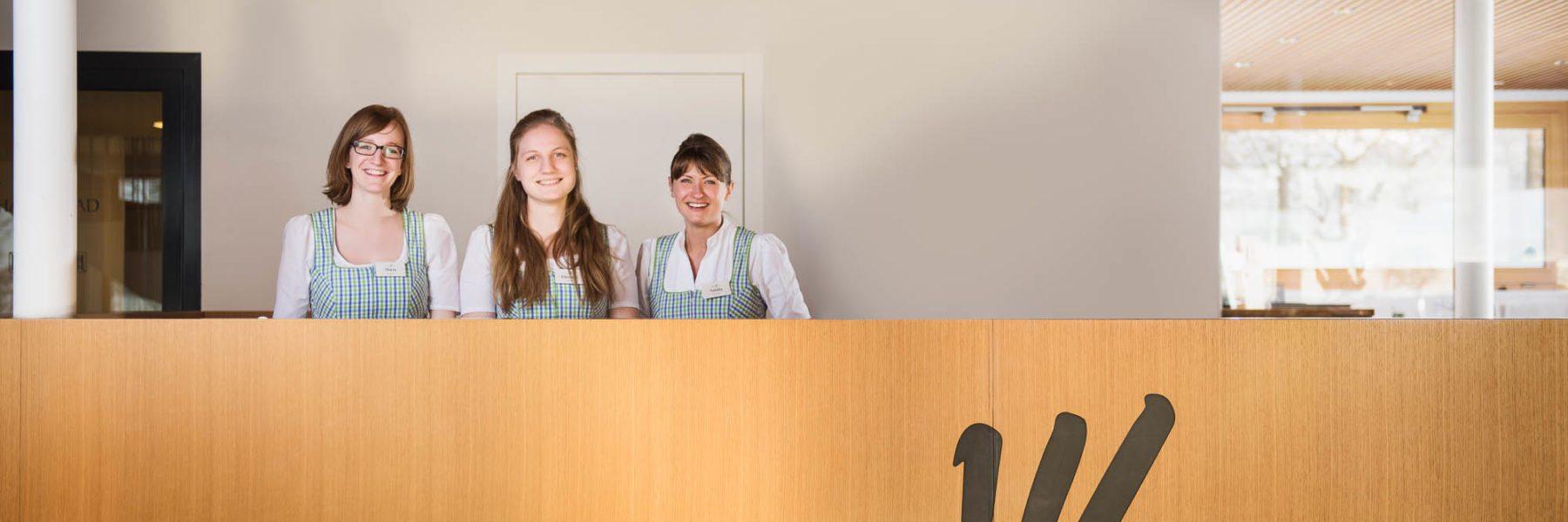 Rezeptionsmädels hotel krone au bregenzerwald