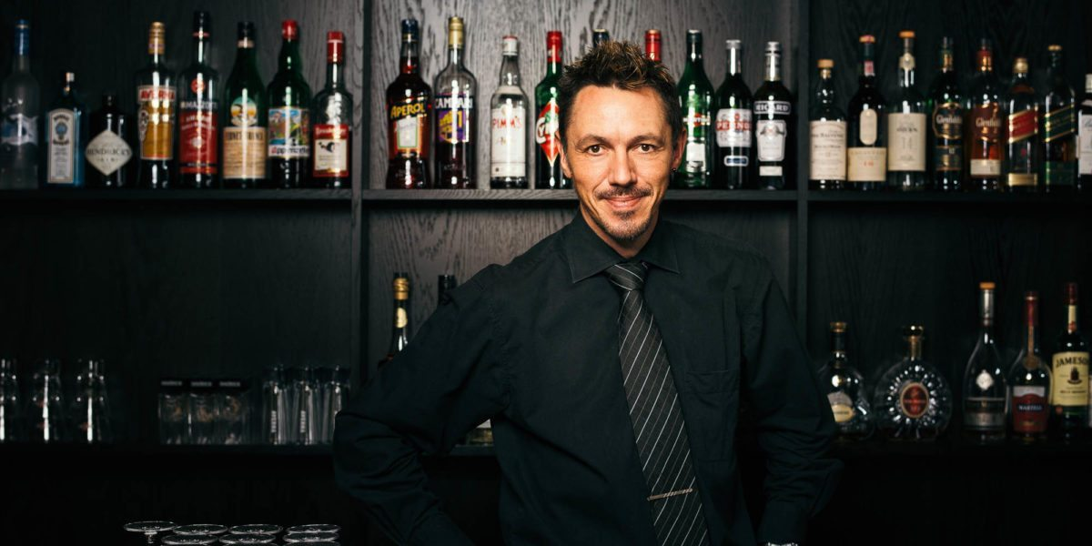 Barmann Norbert bar Hotel krone au vorarlberg