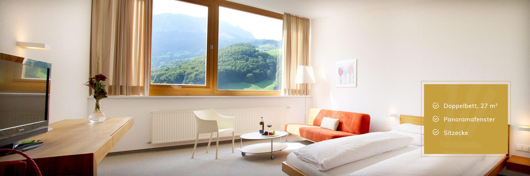 Komfort Zimmer im Hotel Krone Au