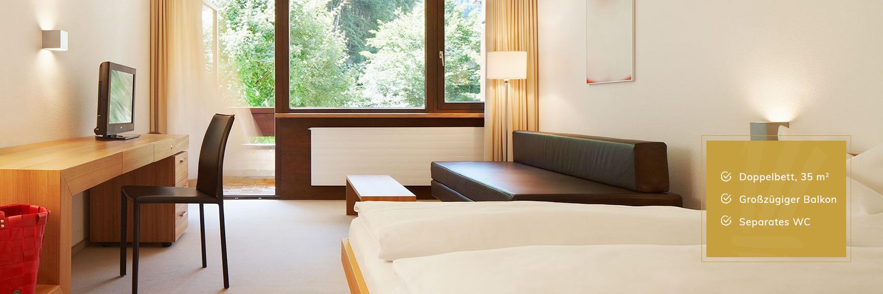 Premium Zimmer im Hotel Krone Au
