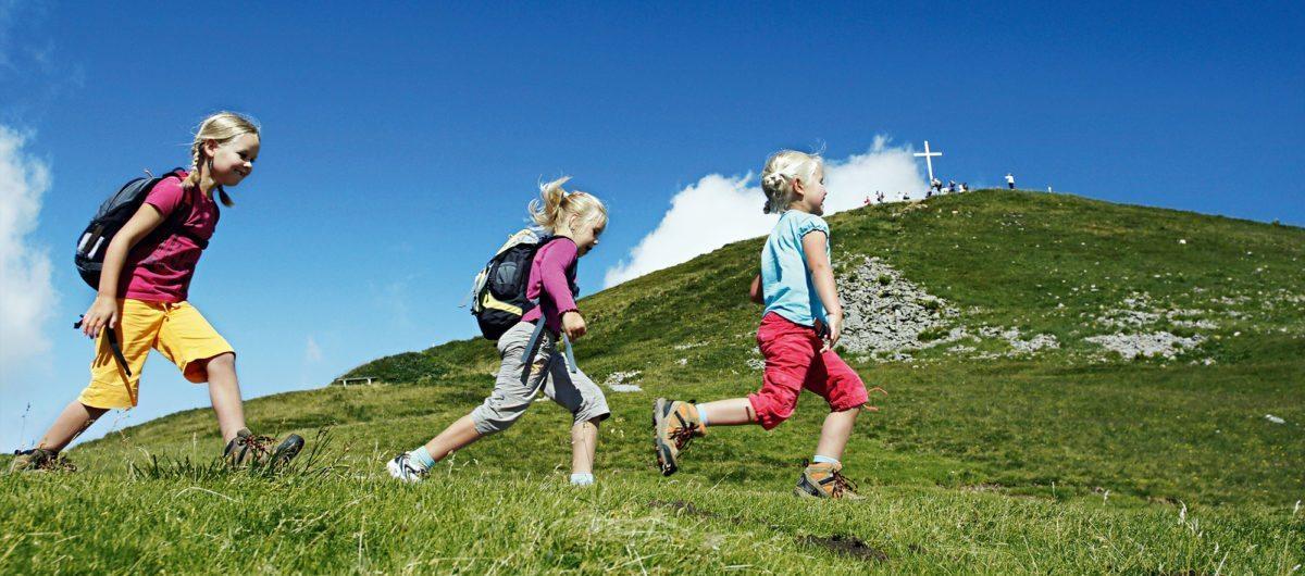 Sommeraktivitäten für Kinder im Vorarlberg Hotel Krone Au