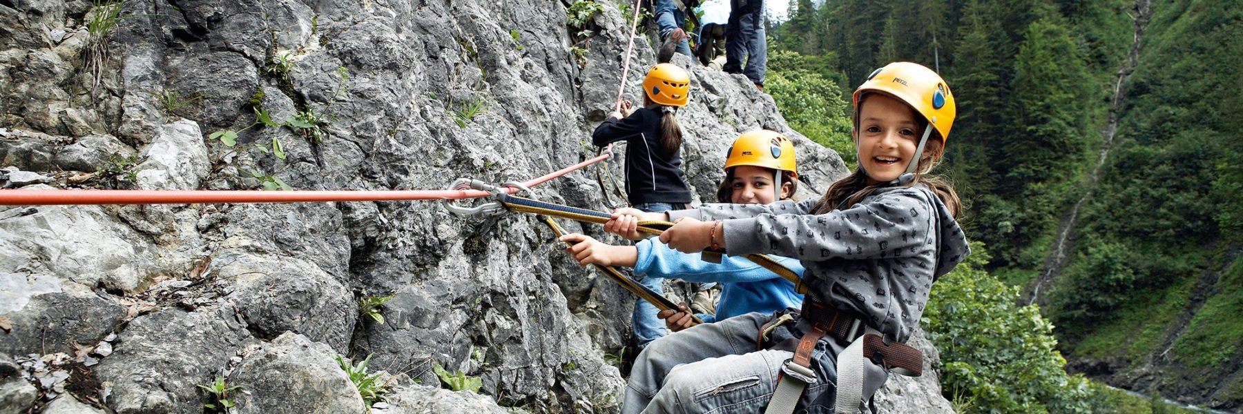 Sommeraktivitäten für Kinder im Bregenzerwald Hotel Krone Au