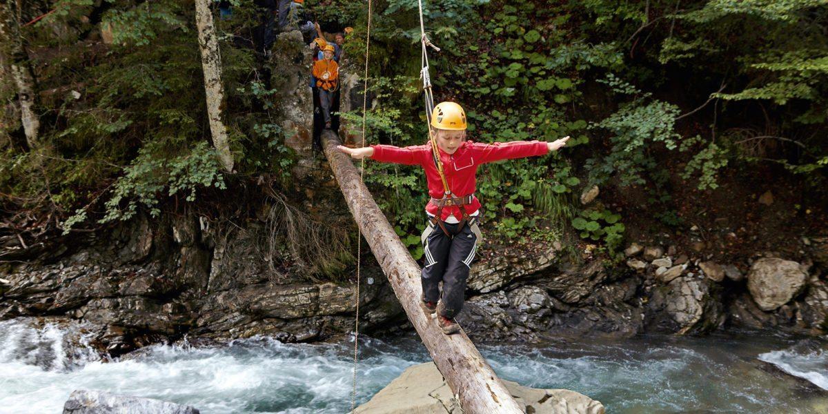 Sommeraktivitäten für Kinder im Bregenzerwald Hotel Krone