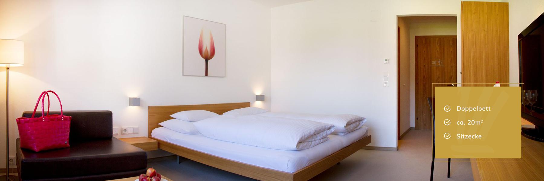 Standard Zimmer im Hotel Krone Au