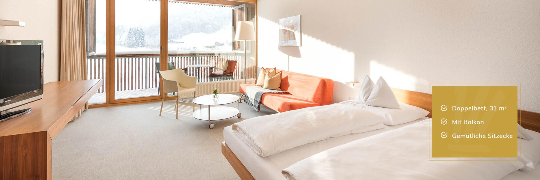 Superior Zimmer im Hotel Krone Au
