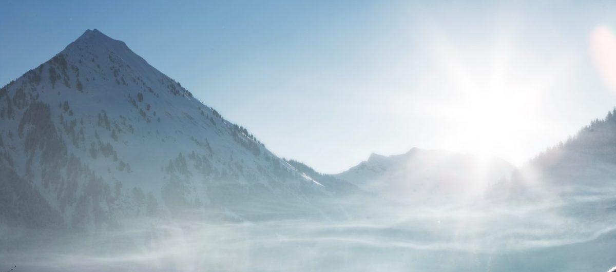 Winterlandschaft Bregenzerwald Hotel Krone Au