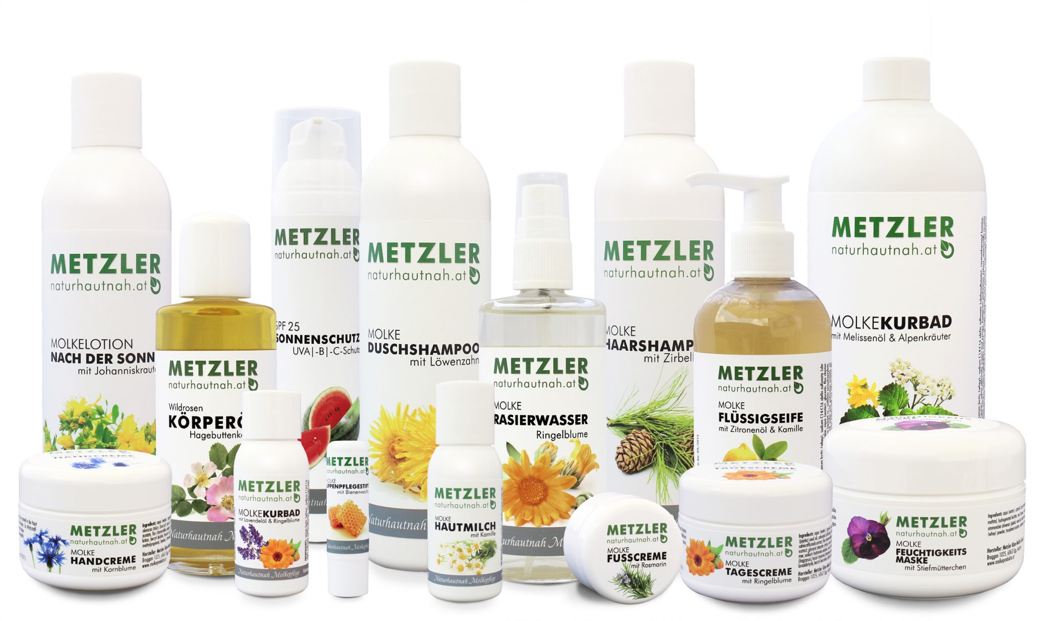 Naturhautnah Kosmetiksortiment Bregenzerwald Hotel Krone Au