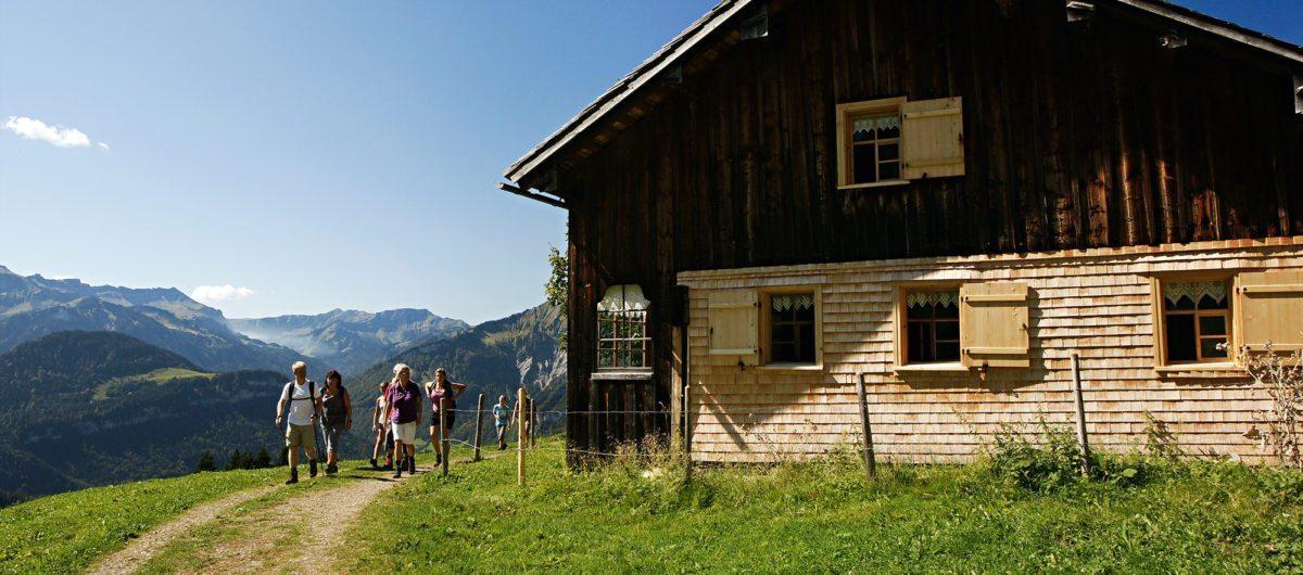 Hotel Krone Au Sommeraktivitäten im Bregenzerwald Wandern