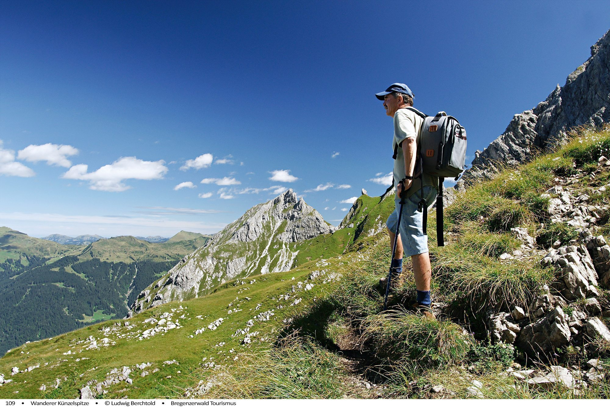 Sommeraktivitäten im Bregenzerwald Wandern Hotel Krone Au