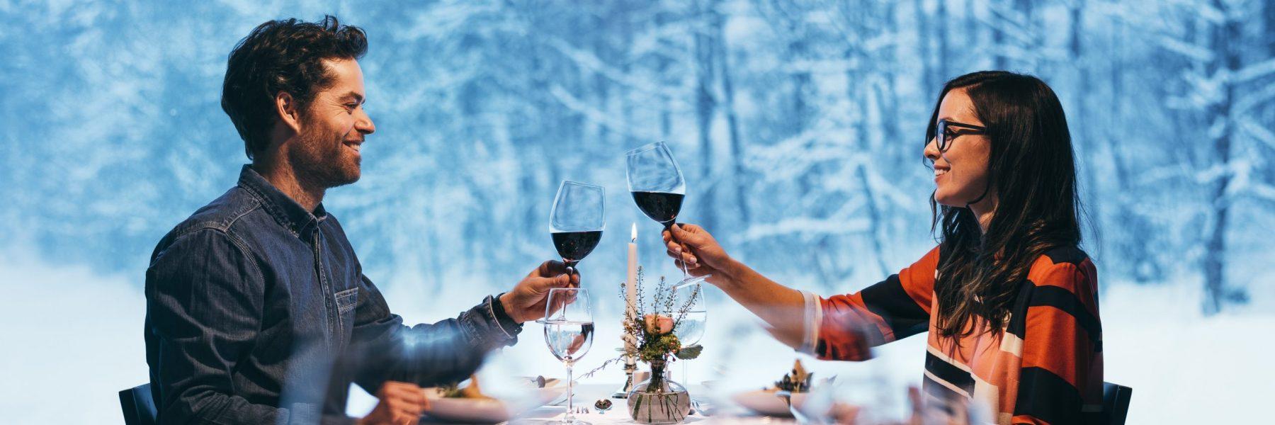 Winter Abendessen